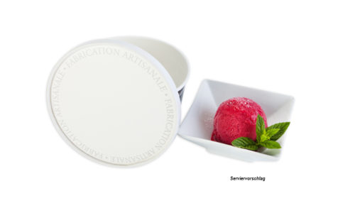 sorbet, eis, dose, packaging